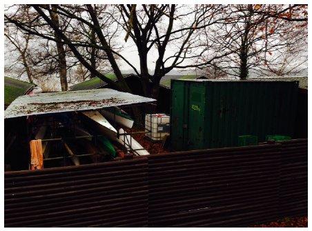 Gladsaxe Kommunes egen dokumentation af mangelfuld udsigt fra Nybrovej.