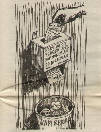 Illustraton til Gladsaxens artikel i 1981, som mange sikkert stadig finder.aktuel.