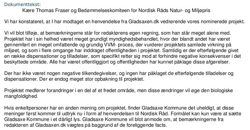 Carsten Sølysts miskreditering af Gladsaxen