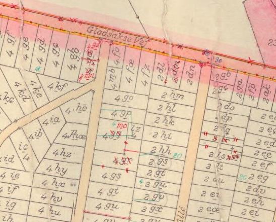 Omlægning af matrikler 1939